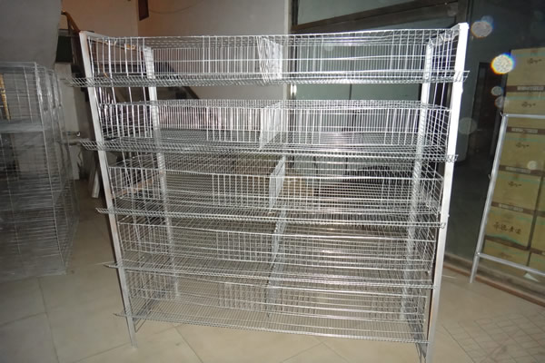 H Type, 5 Tiers Quail Cage