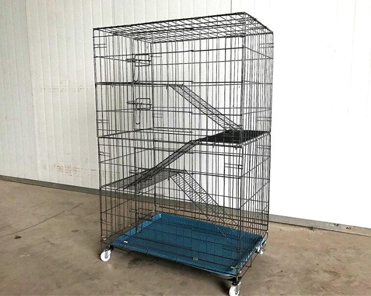 4 Tiers Cat Cage